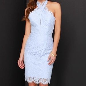 NWT Keepsake High Roads Lace Cocktail Dress